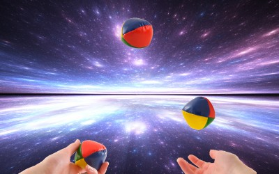 Juggling or multi-tasking or just going at warp speed?