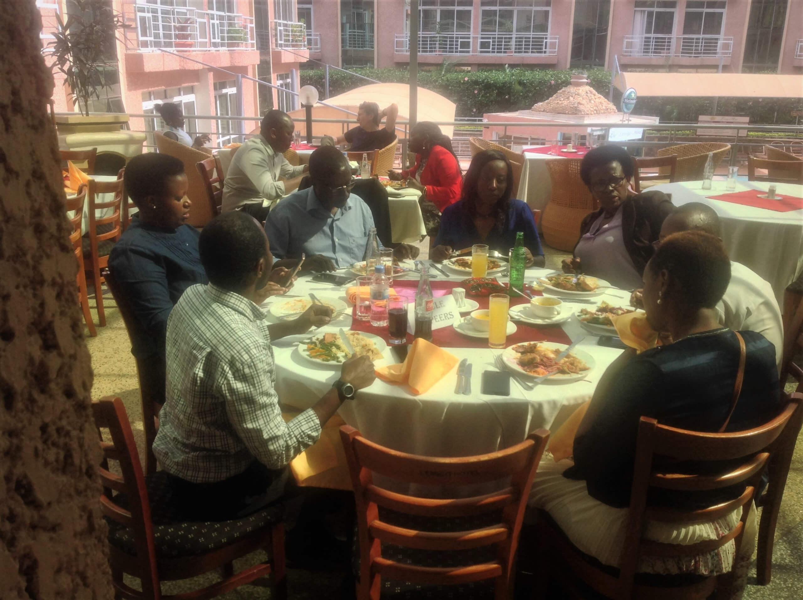 191108 Rwanda COP Lunch